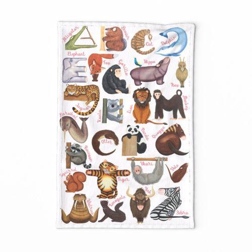 ABC Animal Shapes