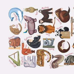ABC Animal Shapes