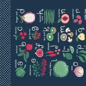 ABCs of Fruits and Veggies
