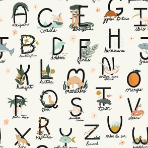 ABCs of Florida Print