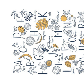ABC Fruits and Veggies