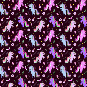 magic unicorns 4 deep purple sp 5858