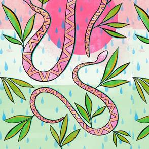 Desert snakes - pinkish