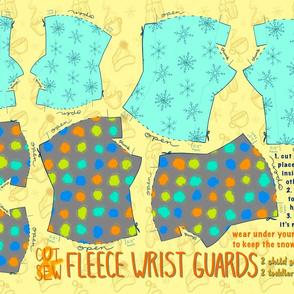 Cut & Sew Fleece Wrist Guards