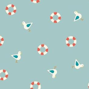 Seagull & Lifesaver