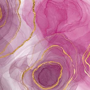 Pink Crystal Tea Towel