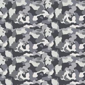 blue gray camo small scale