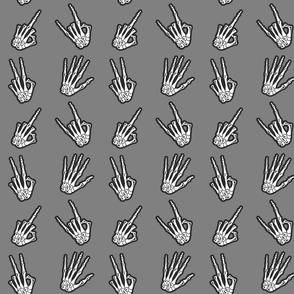 bone zone skeleton hands pattern
