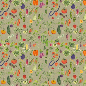 vegetable fabric taupe