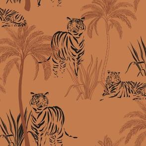 Safari tiger