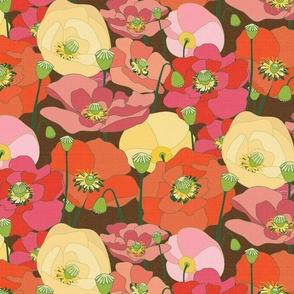 Wild Poppy - Custom Background