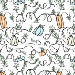 Scribble Pumpkins