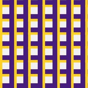 Purple and Yellow Plaid