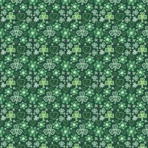 Irish Lace (dark green small scale)