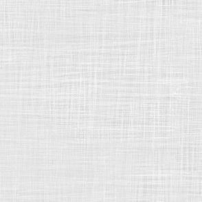pony up: frosty silver linen