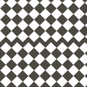 Brown Checkers Drk Choco