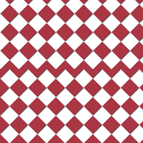 Brown Checkers Cherry