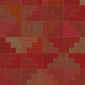 Wari Quilt - pomegranate