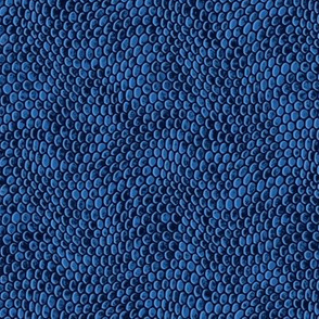 ★ REPTILE SKIN ★ Ultramarine Blue - Small Scale / Collection : Snake Scales – Punk Rock Animal Prints 4