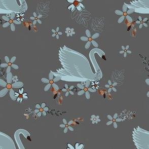 Blue Swans Night