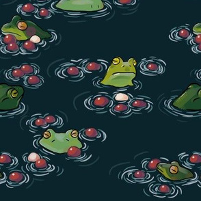Frogs and Cranberries