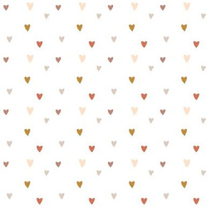 Heart party in white-2x2
