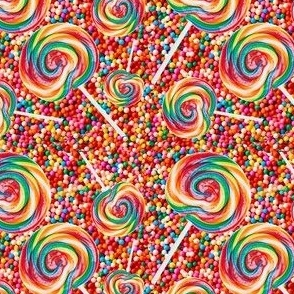 SPRINKLES AND LOLLIES PATTERN 4x4
