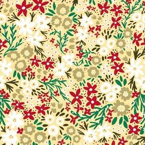 Winter Rustic Wildflowers
