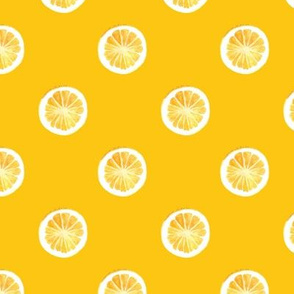 Grapefruit Polkadots Orange