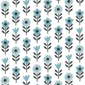 Allsorts - flowers ( Blue )