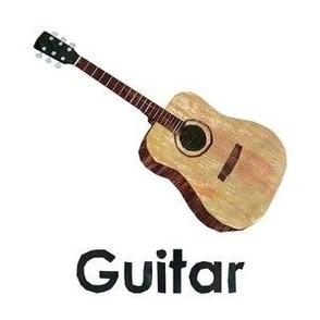 "guitar - 6"" Panel"