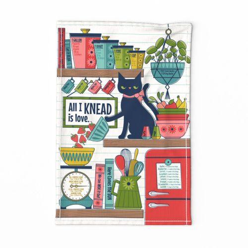 Knowledgeable Kitchen Kitten