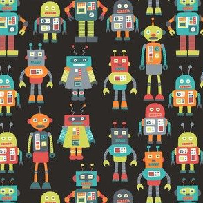 Crowded Robots