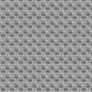 Small Cat Pattern in Gray
