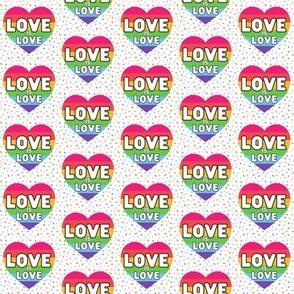 Rainbow Heart- Love is Love