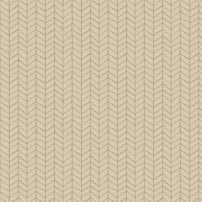 Ditsy Herringbone - beige