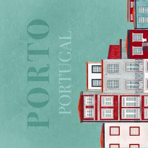 Porto, Portugal Tea Towel