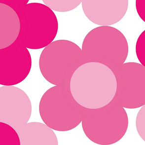 Bold Daisies Pink