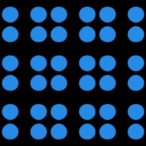 Bright Classic Blue Dot
