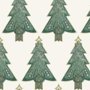 Celtic Knotwork Christmas Trees