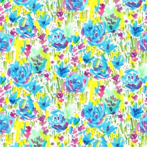 Loose Floral Sketch Pattern