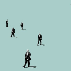 Men in Black (pale sage)