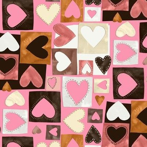 All Colors Hearts / Small Scale