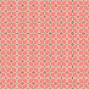 XM plaid pink