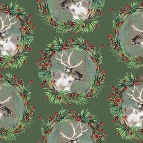 Reindeer Wreaths