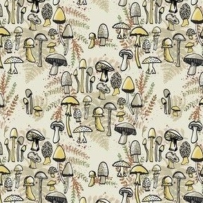 Where the Mushrooms Grow, Alt Color, small