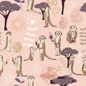 Happy Meerkats Pink