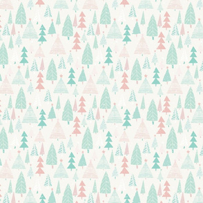 Pastel Forest { mid scale }