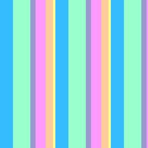 Pastel Stripes - Varied