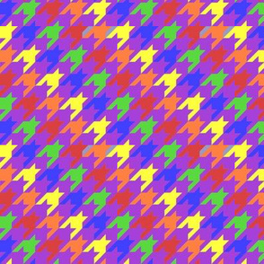 Rainbow Houndstooth